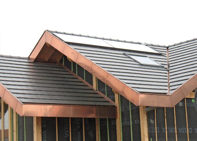 Germinal - Habillage de toiture cuivre