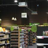 Climatisation d'un magasin bio à Anthy sur Leman